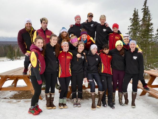 Grace Ski team 2018